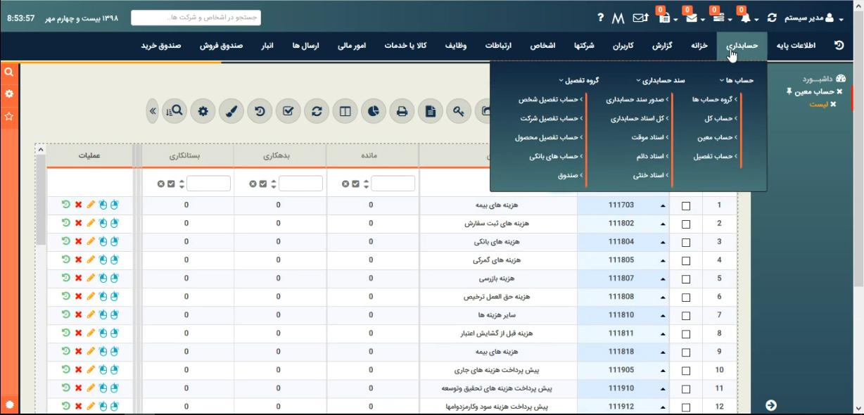 بهترین نرم افزار حسابداری برای فروشگاه های اینترنتی