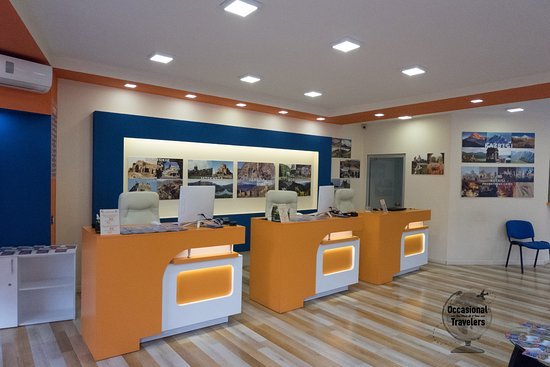 CRM for travel agency office