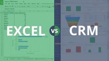 مزایای نرم افزار crm نسبت به برنامه اکسل