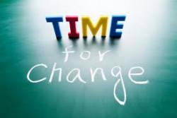 زمان مناسب برای ایجاد تغییر