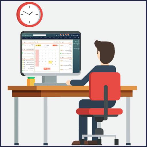 داشبورد مدیریتی در نرم افزار CRM